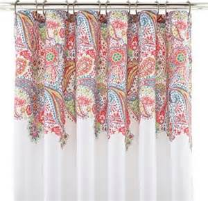 paisley shower curtain contemporary shower curtains