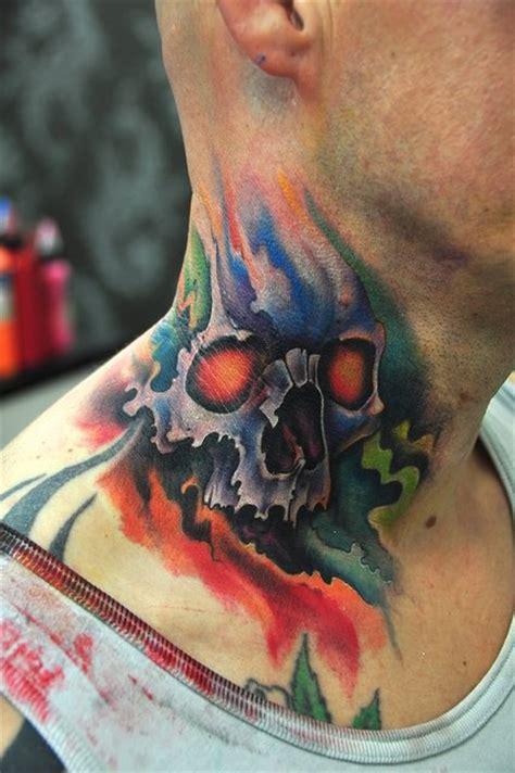 tattoo neck skull 54 skull tattoo designs fashion design trends