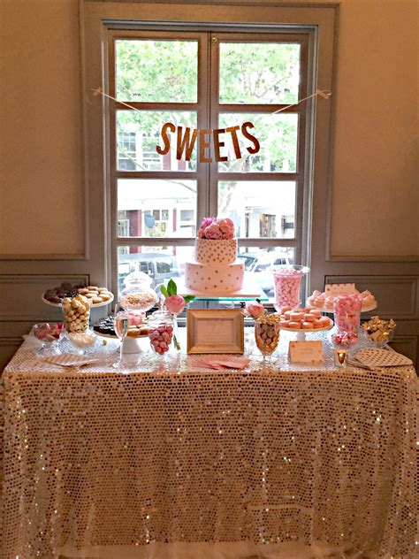 and table shower 35 delicious bridal shower desserts table ideas table