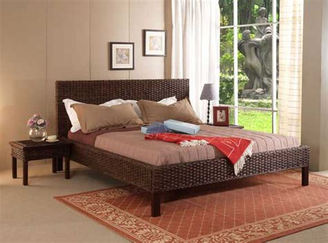 wicker bedroom the exciting features and characteristics of wicker