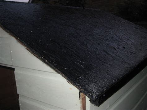 Shed Roof Felt Paint by Part Of Shed Re Build Tutorial Pt 3 Garden Re