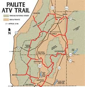 arizona atv trails map dirt wheels magazine where to ride paiute gooseberry