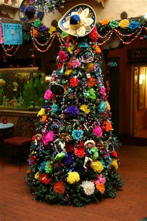 mexican christmas tree christmas decorations pinterest
