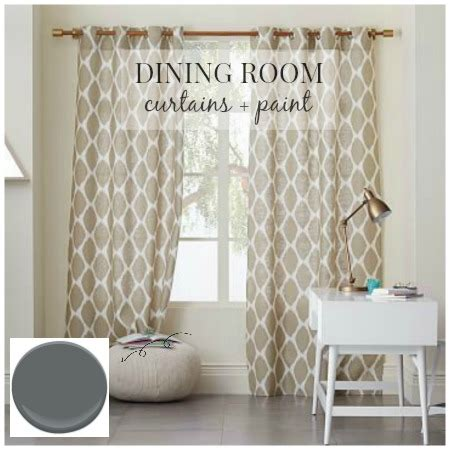 Dining Room Curtains 2015 Dining Room Design Curtains Paint City Farmhouse