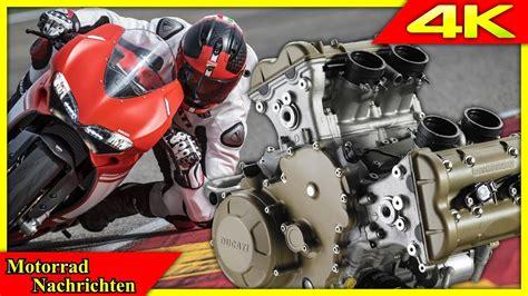 Motorrad Modelle 2018 Ducati ducati soundprobe zum kommenden v4 motor harley