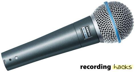 Mic Shure Beta 58 A shure beta 58a recordinghacks