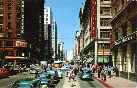 broadway design guidelines los angeles downtown los angeles 7th broadway late 50 s you tube