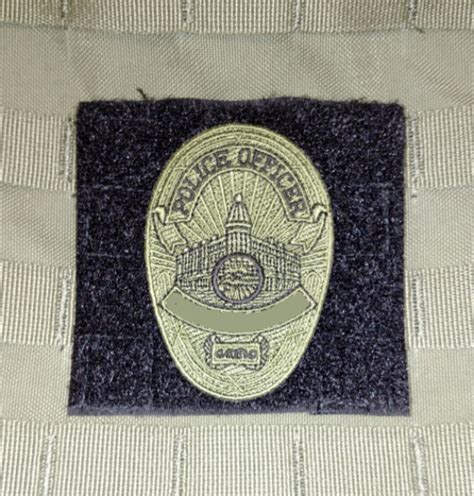 custom molle patches molle panel badge or insignia attachment