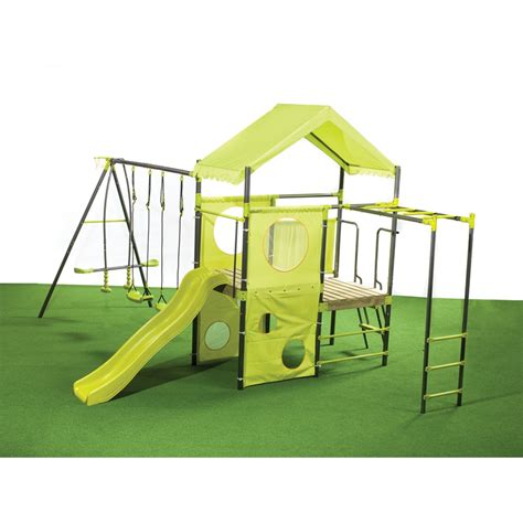 swing sets bunnings ssc play equipment manor swing set i n 3321296 bunnings