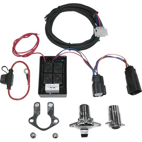 khrome werks trailer wiring connector kit with isolator 8