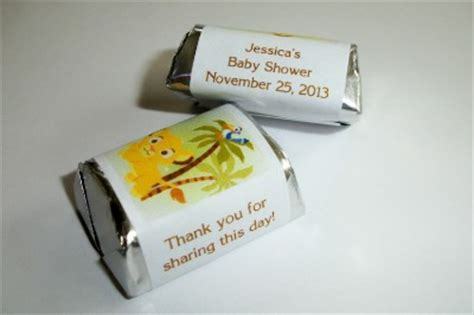 Simba Baby Shower Favors by 120 Baby Simba King Baby Shower Wrappers Labels