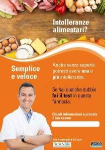 test per le intolleranze alimentari intolleranze alimentari farmacia san snc