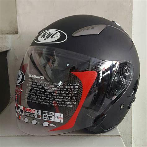 Helm Kyt Galaxy Slide Jual Helm Kyt Galaxy Slide Solid Polos Toko Helm