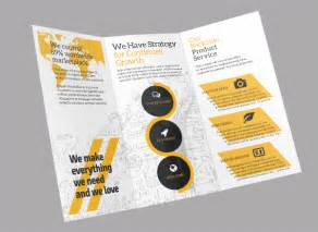 Tri Fold Poster Template by 19 Flat Design Brochure Templates Free Premium Templates