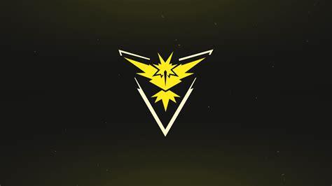 wallpaper pokemon  logo yellow team instinct mobile