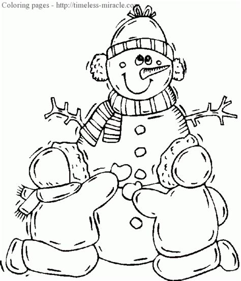 winter holiday coloring pages timeless miracle com