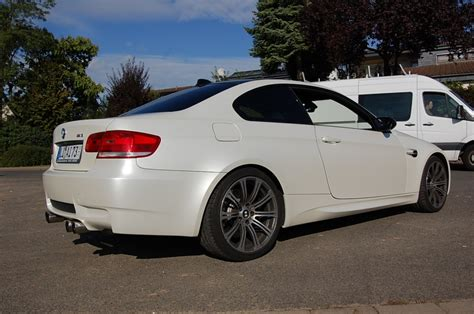 Folie M3 Auto by Folien Manufaktur Bmw M3 Vollfolierung Sathin White