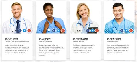 Health Guide Joomla 3 X Template For Doctors Hospitals Physician Bio Template