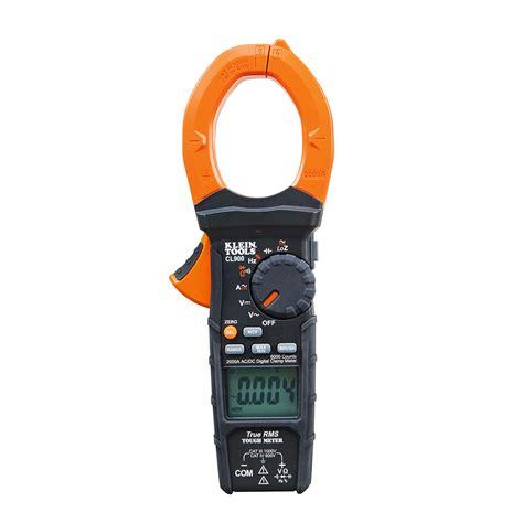 Kyoritsu 2433r Digital Cl Meter 2000a digital cl meter cl900 klein tools for professionals since 1857