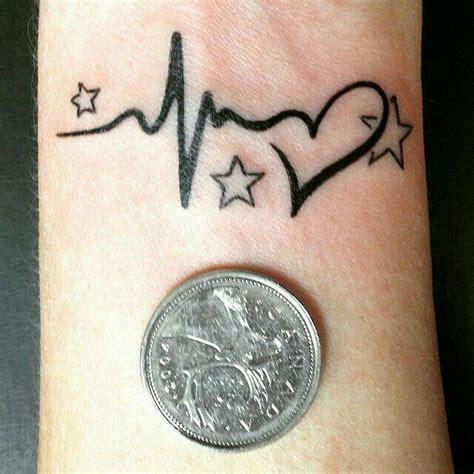 flatline tattoo 9 best flatline heartbeat images on