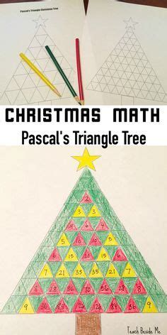 christmas tree stumper math 17 solution 17 best ideas about pascal s triangle on algebra algebra help and trigonometry