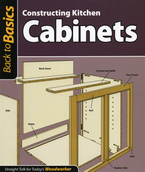 update back to basics constructing kitchen cabinets and