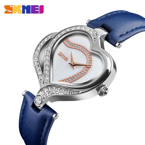 Jam Skmei Wanita Fashion skmei jam tangan fashion wanita 9161 blue