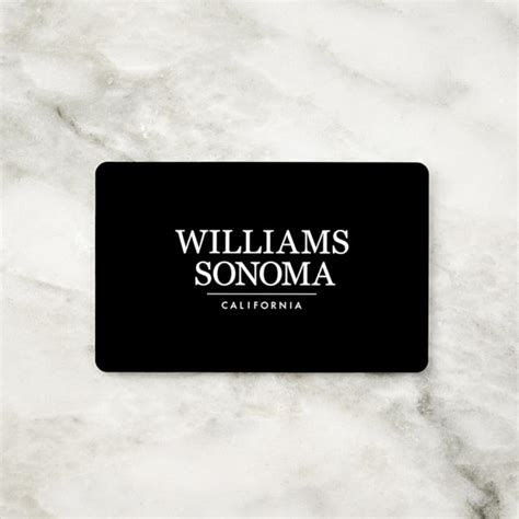 William Sonoma Gift Card Balance - williams sonoma gift cards williams sonoma