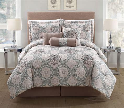 queen bed in a bag sets 11 piece elena bed in a bag set