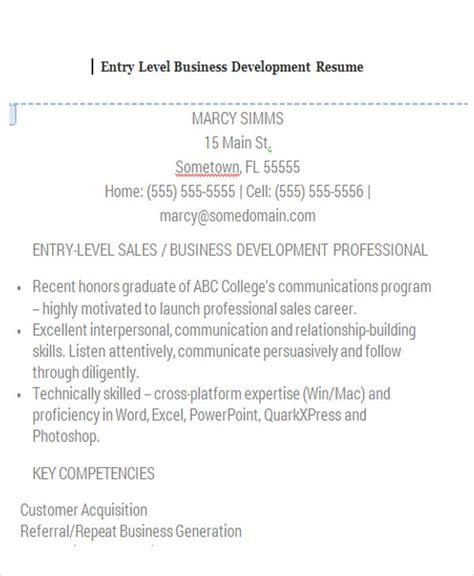 30 business resume templates pdf doc free premium