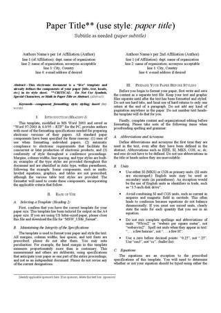 ieee research paper format ieee paper format fitfloptw info