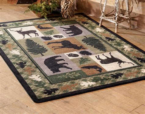 4 X 8 Kitchen Rug Wildlife Retreat Rug 5 X 8