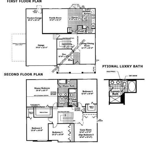 neumann homes floor plans parker model in the neuhaven subdivision in antioch