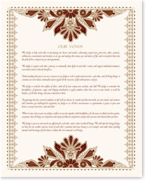 Native American Wedding Vows and Blessings   Apache