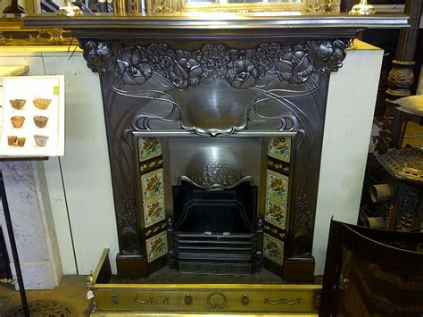 Blue Mantle Fireplaces by Original Combination Fireplace