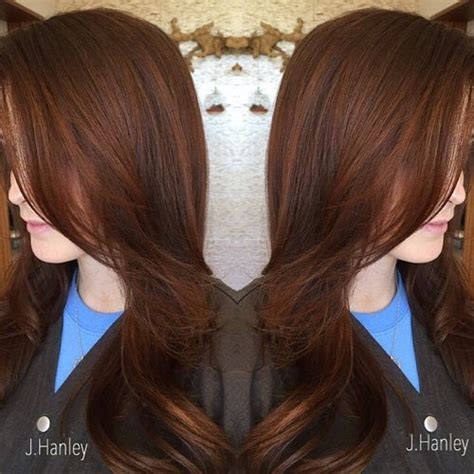 hairstyles with brown hair and red highlights 60 auburn hair colors to emphasize your individuality