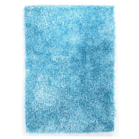 sky blue shag tufted rug temple webster