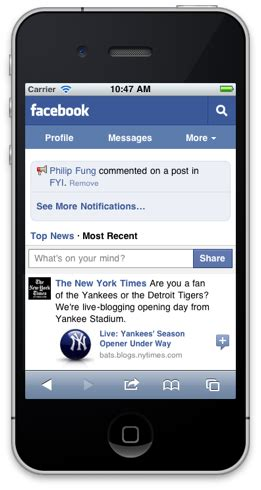 fb on mobile now has 250 million mobile users and a new