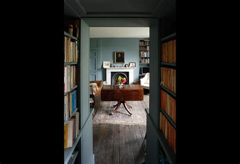 paint color and library living room