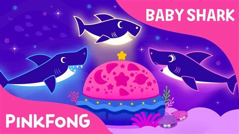 baby shark youtube pinkfong baby shark dream light music box lullaby baby shark