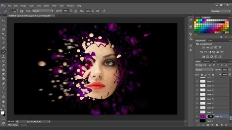 tutorial edit photo with photoshop interesting face manipulation photoshop tutorial