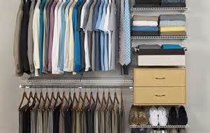 closet shelving with clothes rod