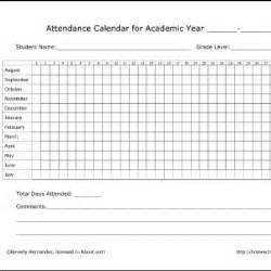 Attendance Record Template For Sports » Home Design 2017