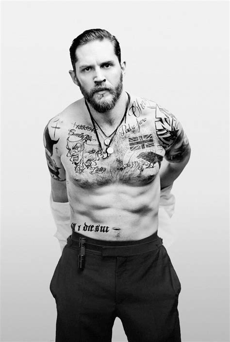 tom hardy tattoos tom hardy yikes h o l l y w o o d tom