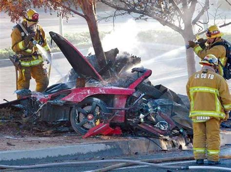 car crash fast and furious paul walker image digital journal