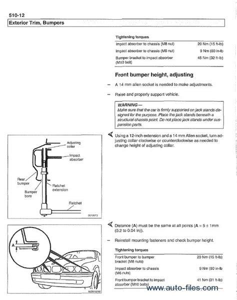 car service manuals pdf 1999 bmw 5 series auto manual bmw 5 series e39 service manual pdf