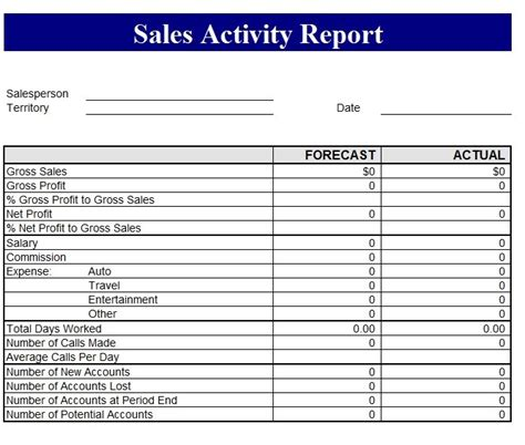 sle report template for business sales revenue report template free formats excel word