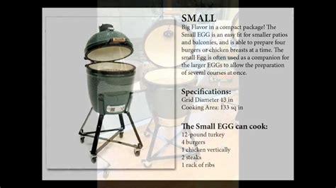 bid med what size big green egg should i buy get the details