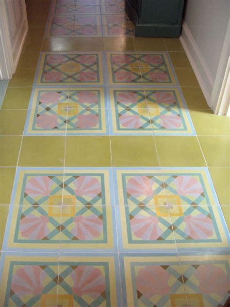 Handmade Cement Tiles - made custom cement tiles in a hallway by villa lagoon