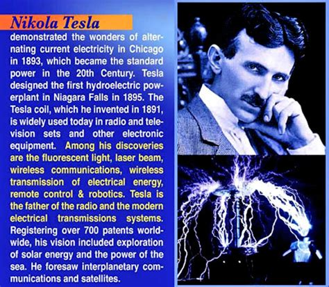 Nikola Tesla Work Nikola Tesla If You Dont This And His Work You
